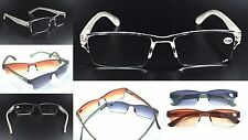 3 Pairs MIXnMATCH Spring Hinged Sunreaders & Reading Glasses +1.5+2.0+2.5 MT60