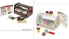 Melissa & and Doug Scoop & Serve Ice Cream Counter Roll Wrap Slice Sushi Counter