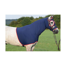 Belvoir Rug Company SHOW HOOD Lycra Mask Keeps Your Horse Pony Clean Navy Purple