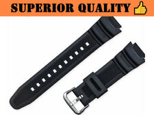 DIVER Rubber Watch Strap for Casio AE-1000w AQ-S810W SGW-400H SGW-300H