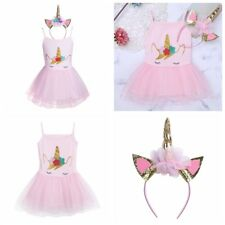 Baby Kids Girls Dress Toddler Princess Party Tutu Tulle Summer Casual Outfits