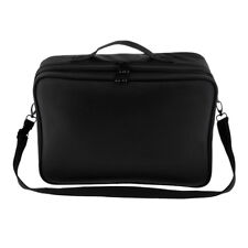 Professional Makeup Train Case Cosmetic Travel Storage Organizer Divider Bag