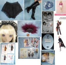 Volks Dollfie Dream Doll Black Lace Panties 60cm Obitsu SD or DD Pamphlet Book