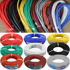 5m/16.40ft 30/28/26/24/22/20 AWG Stranded Silicone Electric Wire Cable Rapture
