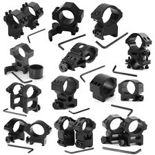 Tactical 25.4mm Various Scope Rings Mount Weaver Picatinny For Dovetail Rail AA