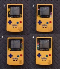 Nintendo Game Boy Color Pokemon LIMITED EDITION System-You Pick Screen Lens!