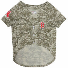 Pets First Boston Red Sox Camo Jersey