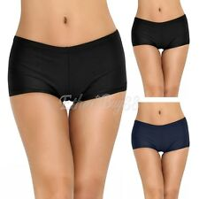 Women's Boy Leg Swim Bikini Bottoms Boardshorts Swim Shorts Panties Swimwear