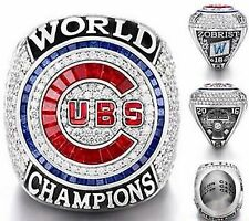 2016 Chicago Cubs World Series Championship Ring Size 814 Zobrist Bryant Rizzo