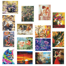 DIY Paint By Number Kits On Canvas Digital Oil Painting Picture Wall Decor