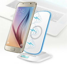 Qi Wireless Fast Charger Charging Stand Dock for iPhone X, Samsung Galaxy S8