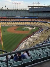 UP TO 4 DODGERS RESERVE LEVEL TICKETS 8/14 AISLE 53 ROW BB vs. GIANTS AISLE SEAT