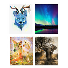 5D DIY Diamond Painting Elephant Horse Embroidery Cross Craft Stitch Art Kit