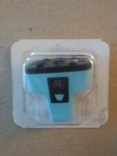 Genuine HP 02 Cyan Ink Cartridge
