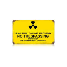 VINTAGE STYLE METAL SIGN  Ambrosia Nuclear 14 x 8