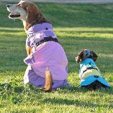 Dog Raincoat Body Wrap by Doggie Design - Pink and Lavender