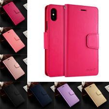 For iPhone XS Max SE 5 6S 7 8 Plus Business Slim Leather Case Flip Wallet Cover