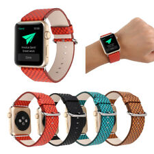 38/42mm Genuine Leather iWatch Band Strap Fashion Bracelet for Apple Watch 4 3 2
