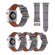 38/42mm Genuine Leather iWatch Strap Classic Watch Band for Apple Watch 4 3 2 1