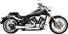 Freedom Performance Exhaust Exh 2 Into 1 Chr Roadliner/Stratoliner for Yamaha (Fits: More than one vehicle)