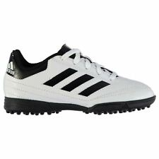 adidas Goletto Astro AG Artificial Grass Trainers Juniors Soccer Shoes White/Red