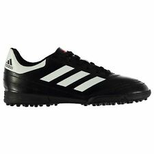adidas Goletto Astro Artificial Grass Trainers Juniors Black/White Soccer Shoes