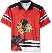 Forever Collectibles NHL Men's Chicago Blackhawks Thematic Polo Shirt