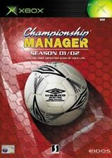 Championship Manager Season 01/02 (Microsoft Xbox, 2002) *DISC & MANUAL ONLY*