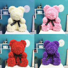 Artificial Flowers Rose Bear Valentines Gift Love Teddy Bear Valentines Day 2019