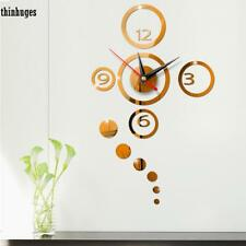 Creative Modern Round Wall Clock Stickers Home Decoration Wall Stickers