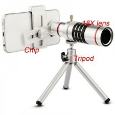 18x Universal Optical Zoom Mobile Phone Telephoto Lens Silver