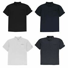 Russell Athletic XL Polo Shirt Mens Athleisure Top Tee Black XX-Large (Long)