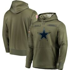 NFL Dallas Cowboys Hooded Men's Sweater Thicken Unisex Football Training Hoodie