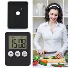 LCD Digital Large Kitchen Cooking Timer Count Up Down Clock Loud Alarm Magnetic