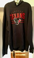 HOUSTON TEXANS NFL TEAM APPAREL PULLOVER NAVY BLUE HOODIE WITH HAND POUCH NWT