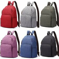 New Men's Casual Canvas Backpack College Students Backpack School Bag Rucksack