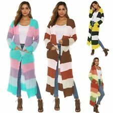 Jacket Casual Long Knitted Loose Long Sleeve Coat Outwear Sweater Cardigan