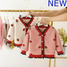 Hoodie Coat Toddler Girls Jacket Outerwear Kids Clothes Sweater Winter Baby Warm