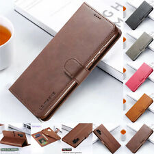 Case For Samsung Note 10 S10E S9 S8 Plus S7 6 Flip Leather Magnetic Wallet Cover