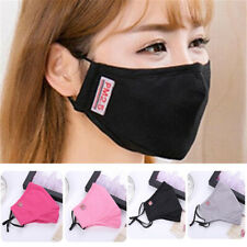 Unisex Cotton Half Face PM2.5 Mouth Mask Fashion Anti-Dust Mouth Respirator