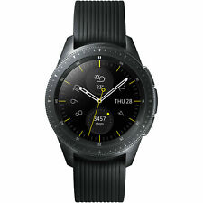 Artikelbild SAMSUNG Galaxy Watch 42 mm LTE Smartwatch Schwarz SM-R815F