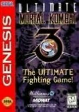 Ultimate Mortal Kombat 3 - Sega Genesis Game Authentic