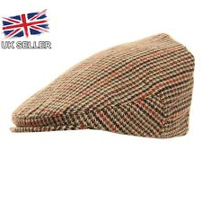 NEW TWEED COUNTRY FLAT CAP ADULT/CHILD SIZES AVAILABLE