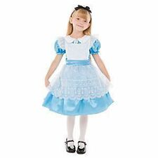 Disney Store Alice in Wonderland Costume Dress NWT CUTE