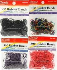 300 Pieces Rubber Bands Pony Tail,Braid Holder 11Colors