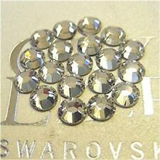 144 Swarovski Rhinestone Flatback CRYSTAL 2088 / 2058 Various Sizes