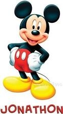 Disney Mickey Mouse T-Shirt Personalized YOUR TEXT NEW!