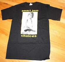 PEARL JAM Black Shirt CHOICES JEREMY ten era many sizes