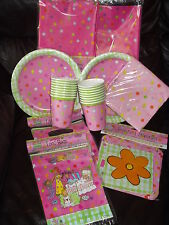 Birthday Girl/Sleepover Party Tableware ALL Items Here!