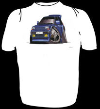 KOOLART TSHIRT - RENAULT 5 TURBO - BLUE - 6 SIZES